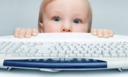 does your baby use email