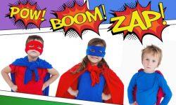 Superhero training--1 of 9