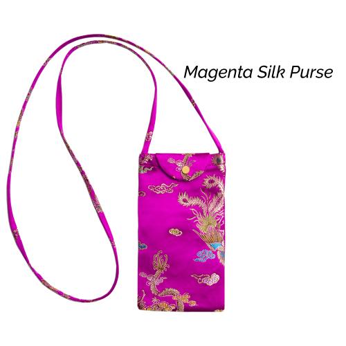 Magenta Silk Purse (2)
